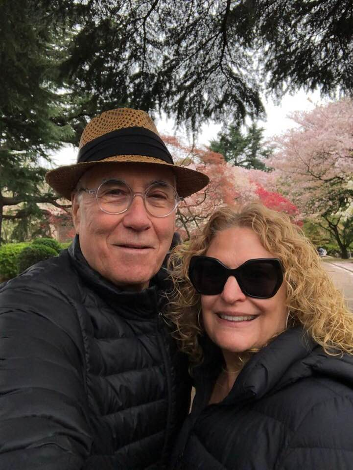 25-year anniversary, celebrating with my Esti in Japan, Sakura blossom  March 2019